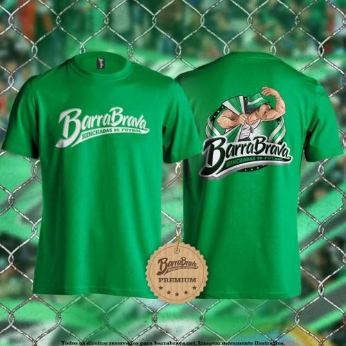 Camiseta verde Barra Brava...