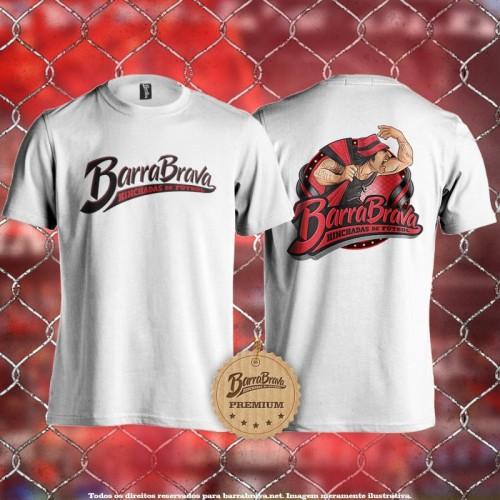 Camiseta branca Barra Brava...