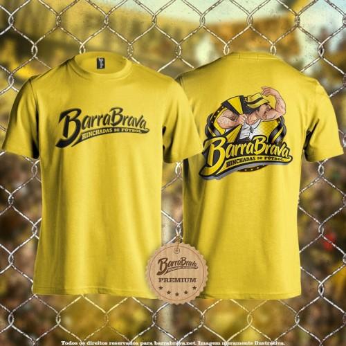 Camiseta amarela Barra...