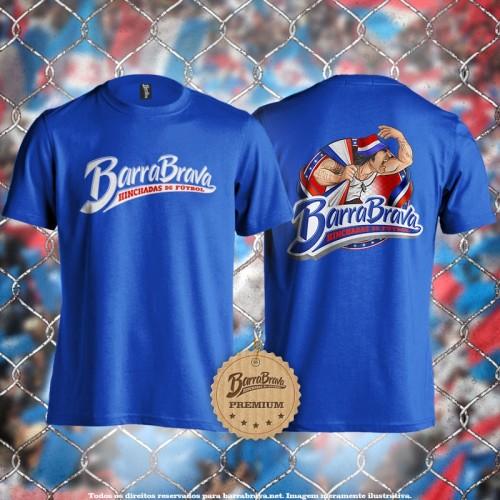 Camiseta azul Barra Brava -...